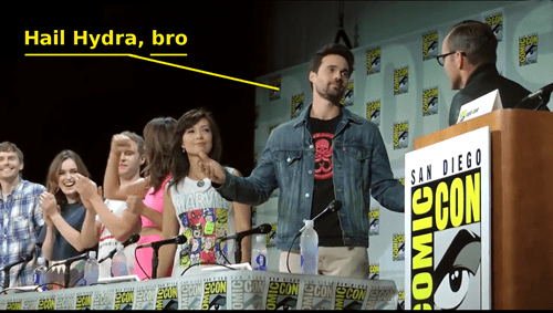 San Diego Comic Con 2014,hail hydra,agents of shield