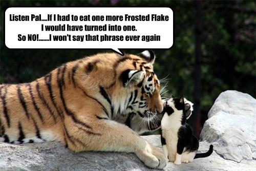Sylvester finally get's to meet his idol Tony the Tiger