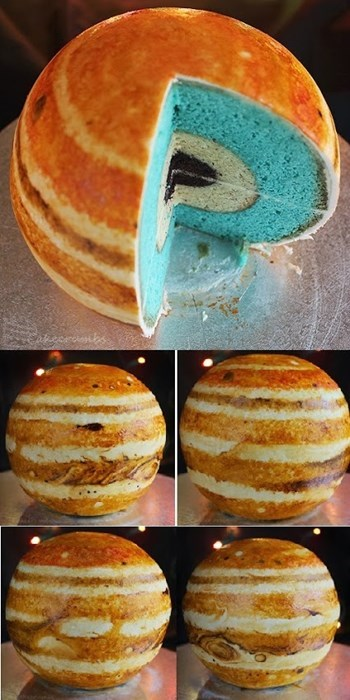 Pic of the Day: Jupiter Cake