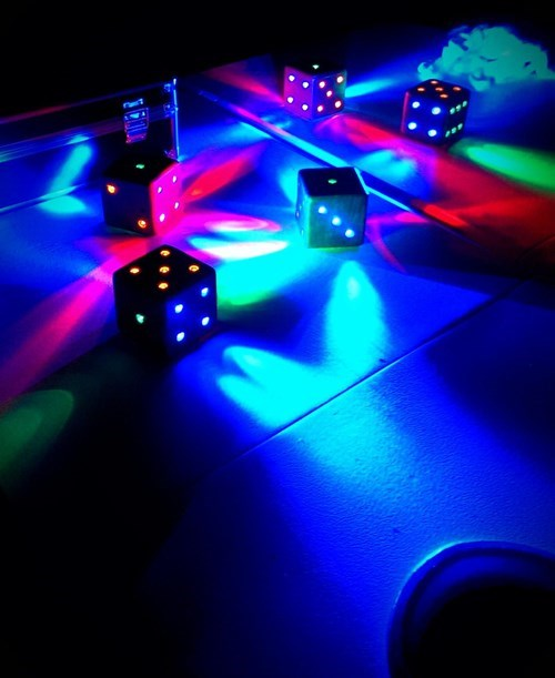 Shut Up and Take My Money of the Day: LED Dice