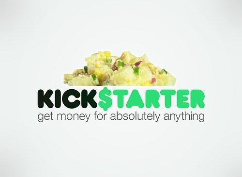 kickstarter,honest slogan,potato salad