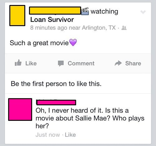 loans,student loans,Movie,failbook,g rated