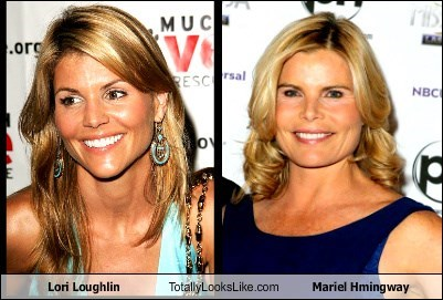 Lori Loughlin Totally Looks Like Mariel Hmingway
