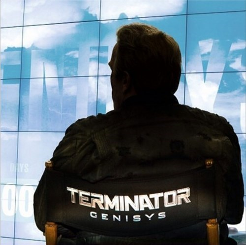 Arnold Schwarzenegger Announces the Title of the Terminator 5 Movie