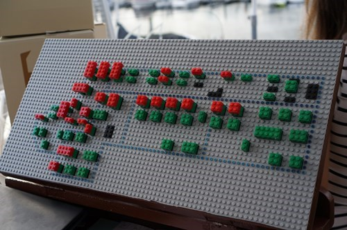 Mildly Interesting of the Day: This Danish Restaurant Uses Legos to Keep Track of Occupied Tables