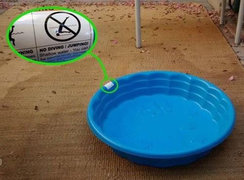 warning,pool,kiddie pool,fail nation,g rated