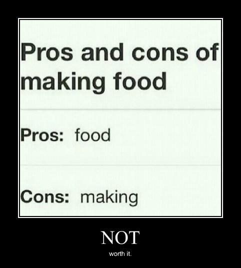 cooking,bad idea,lazy,food