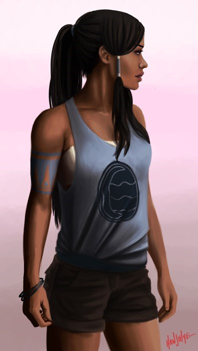 If Korra Was a 21st Century Gal