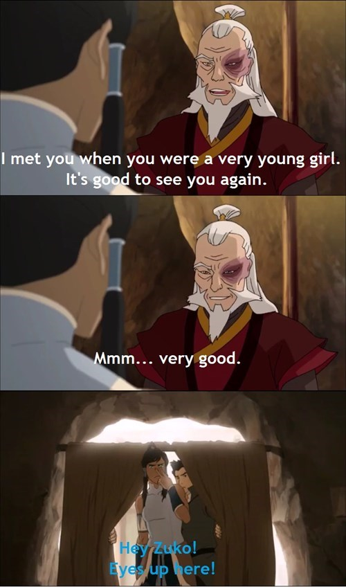 Not Even Zuko Can Resist Taking A Look