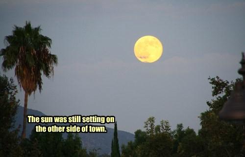 Southern California Super Moon