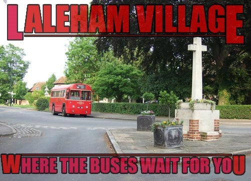 Laleham, For the service