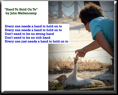 """""""Hand To Hold On To"""" by John Mellencamp"""
