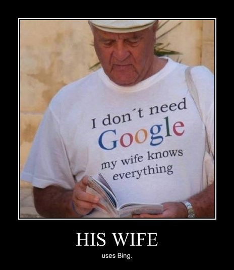 bing,smart,wife,funny