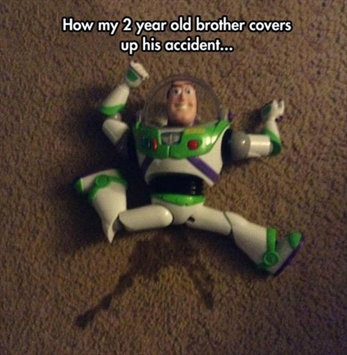 It Was Buzz, Not Me!
