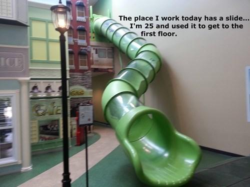 Every Workplace Needs a Slide