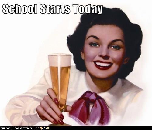 School Starts Today