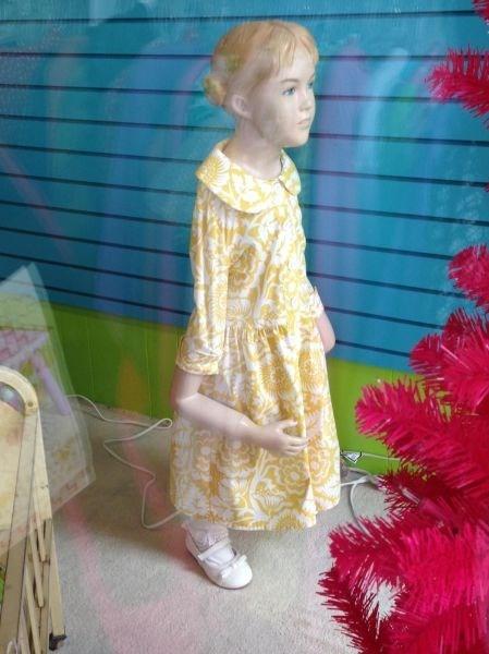 monday thru friday,poorly dressed,mannequin,retail