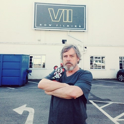 Twitter is Blowing Up Like The Death Star Over This Picture of Mark Hamill