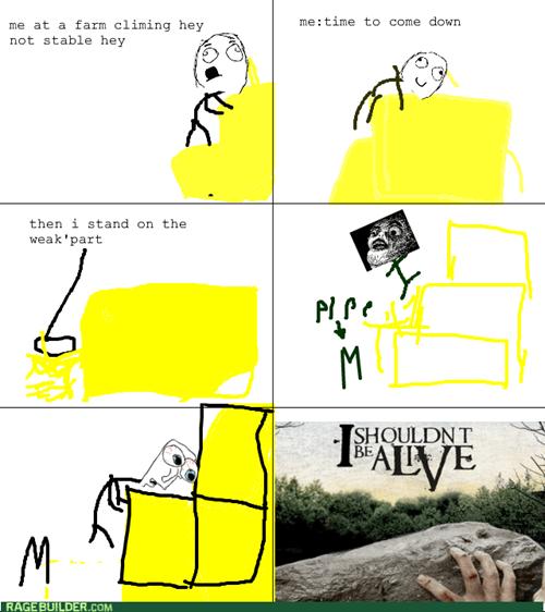 Hay Climbing