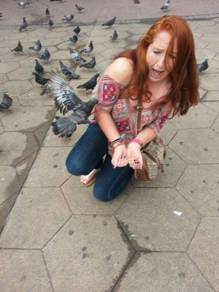 They Warned You Not to Feed the Birds!