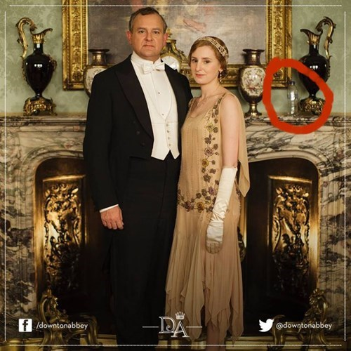 Fail of the Day: Something Isn't Quite Right With This Downton Abbey Promotional Shot