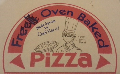 Mackerel and Pineapple Pizza