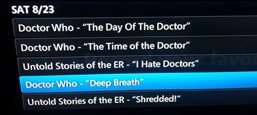 Daleks Get Sick Too