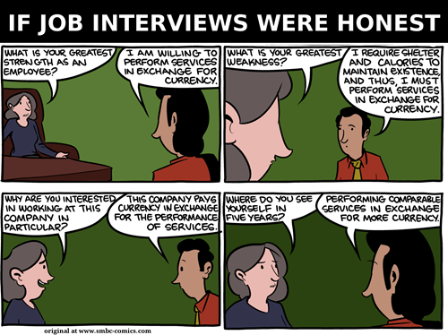 If Job Interviews Were Honest