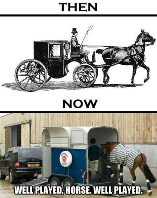 Putting the Cart Before the Horse