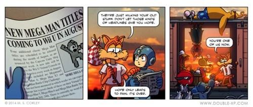 Sad,mega man,bubsy,mascots,video games,toejam and earl,web comics