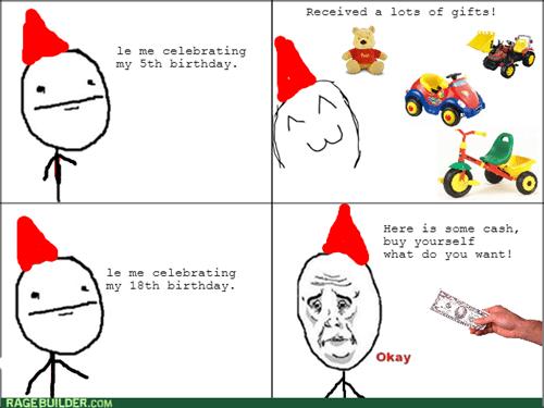 presents,kids,birthday,Okay,money