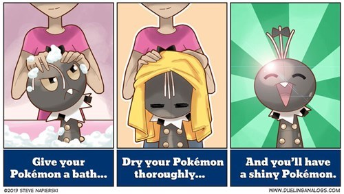 If Only Getting a Shiny Was This Easy!