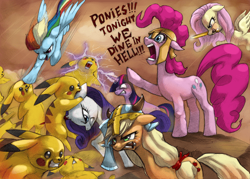 Pokepony in 300, Who Will Win?