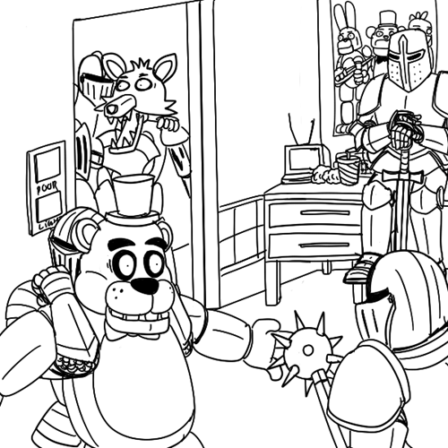 Five Knights at Freddy's