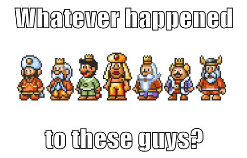 The Kings Long Forgotten