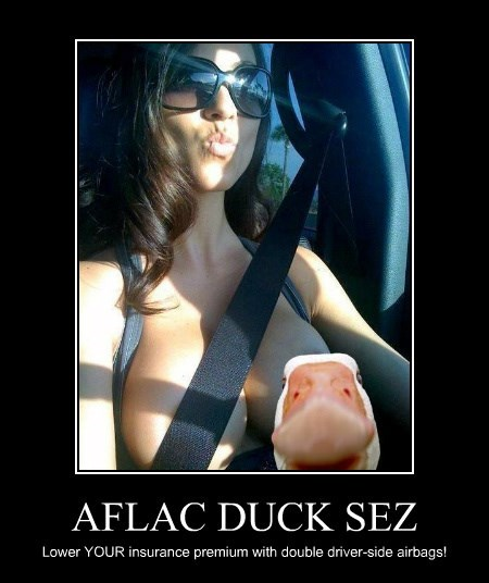 AFLAC DUCK SEZ