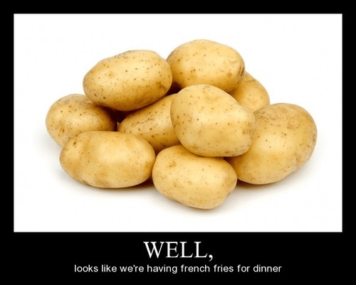 fry daddy,awesome,dinner,funny,potatoes