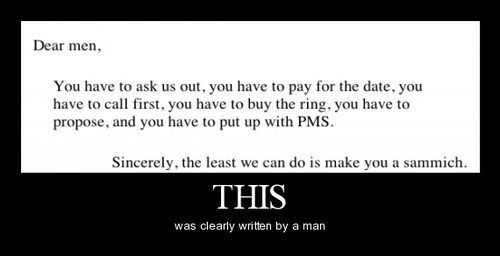 No Woman Would Write This