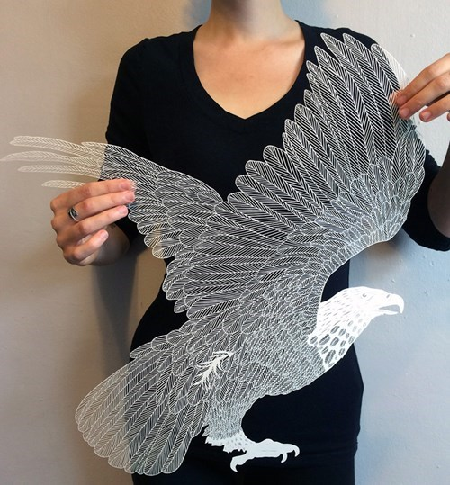 This Web-Thin Design is Made Entirely of Paper