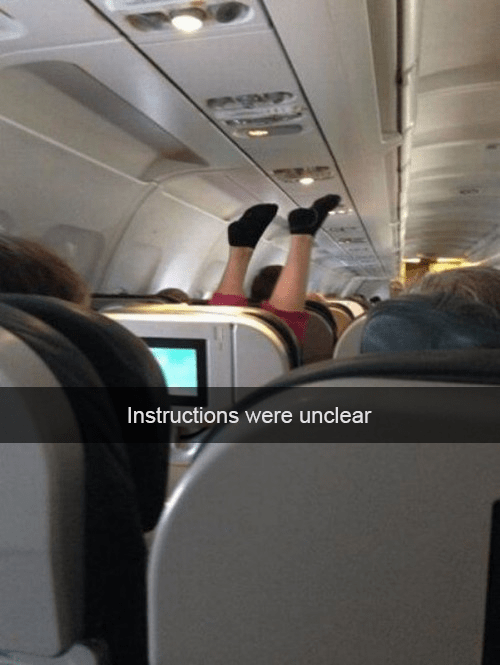Flying Coach is Truly the Worst