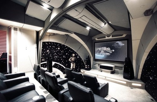 Someone Out There Has This Star Wars Theater Room, and We Are Very Jealous