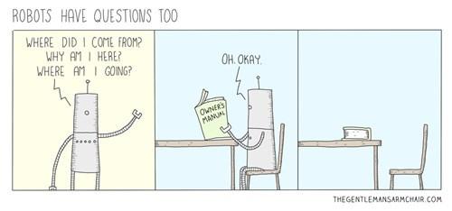 Robots Have Questions Too