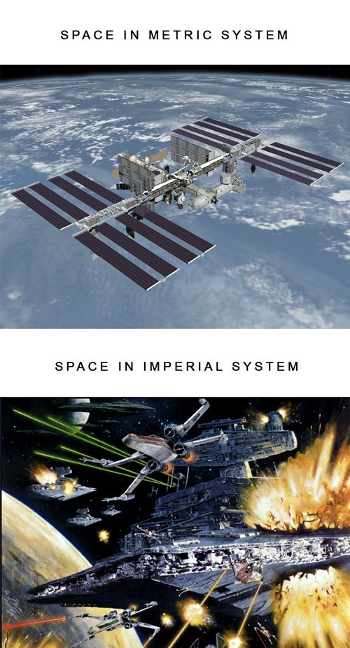star wars,metric system,space