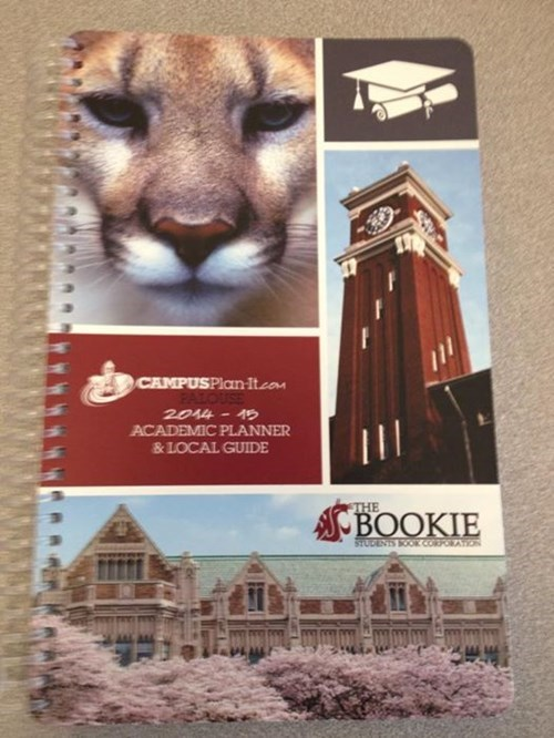 Washington State University's New Planners Are Perfect, Except for the Picture from State Rival University of Washington