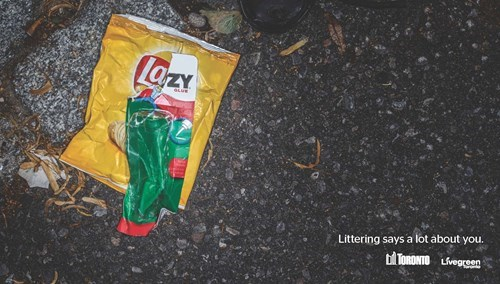 Toronto's Clever Anti-Littering Campaign Features Trash Insulting Your Bad Habits