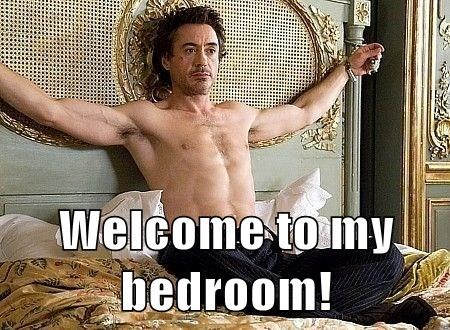 Welcome to my bedroom!