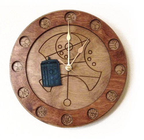 I Didn't Know a Gallifreyan Clock Would Be So Linear