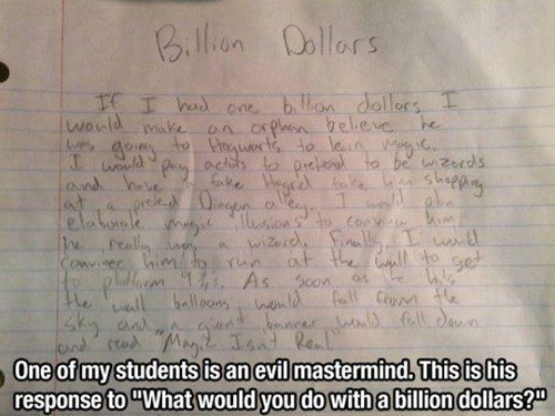 Some Kids Are Evil Geniuses