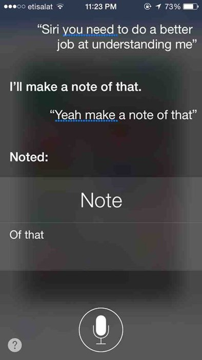 DAMMIT SIRI THIS ISN'T A GAME
