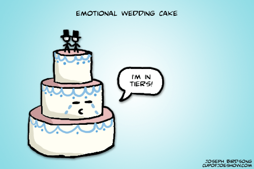 Sad Wedding Cake is Sad